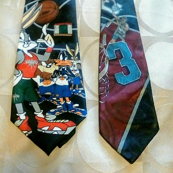 Looney Tune Mania Other - LOONEY TUNE & ANDHURST BASKETBALL TIES